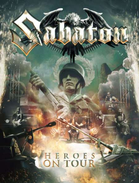 SABATON: Live DVD/CD τον Μάρτιο