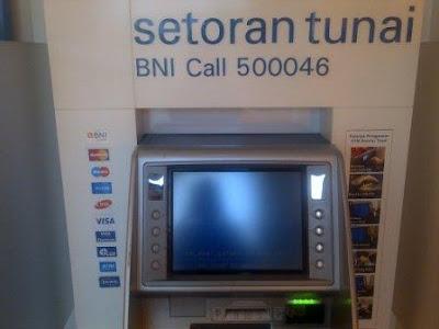 ATM BNI Setor Tunai