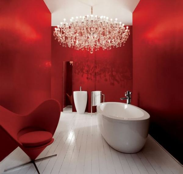 Laufen Red Bathroom