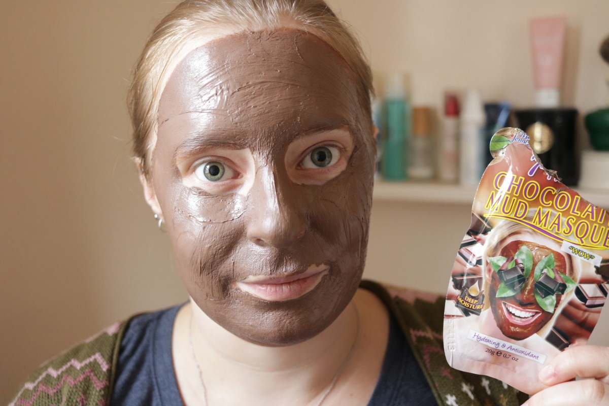 Intrepid Forays and Adventures: 7th Heaven Chocolate Mask Review