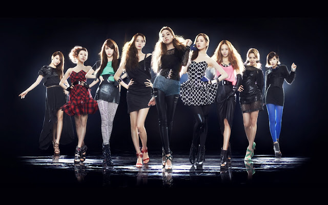 SNSD Girls Generation Tour 2011 Wallpaper HD 소녀시대/少女時代 2