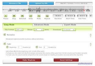 Creează ton apel online - editor