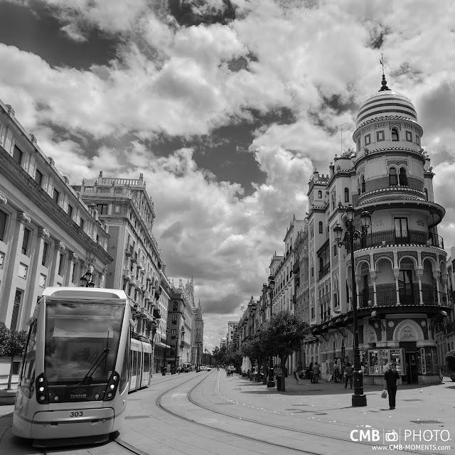 Sevilla blanco y negro