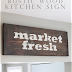 Kitchen Wooden Sign