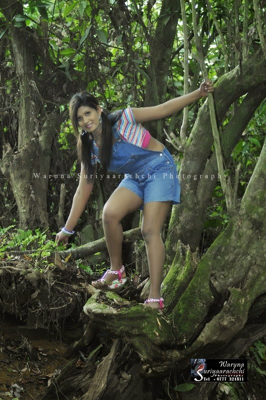 Anjula Gamage blue shorts