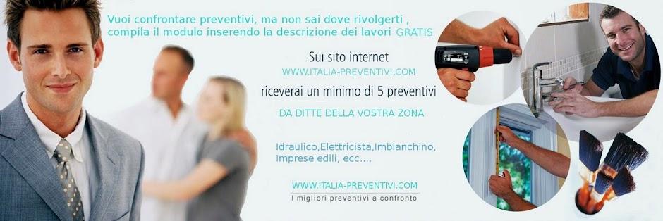 ITALIA PREVENTIVI - Cosa è Italia Preventivi