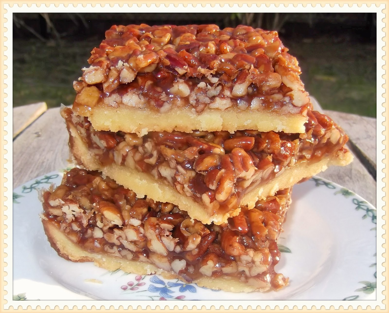 Rosie's Country Baking: Southern Pecan Pie Bars