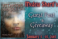 Medeia Sharif's Guest Post & Giveaway