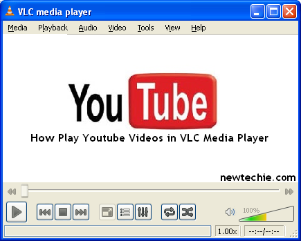 how to  youtube videos vlc player