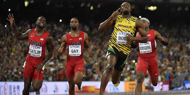 Usain Bolt reste le roi du 100 mètres