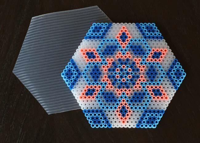 Make // Perler Bead Coasters