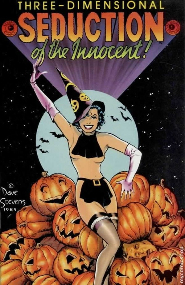 SEDUCTION OF THE INNOCENT #5 Eclipse 1986 Alex Toth FINE  COMBINED POST