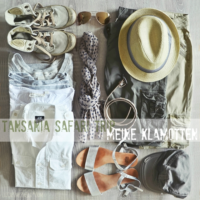 luzia pimpinella | travel tansania | safari-vorbereitungen: kleidung