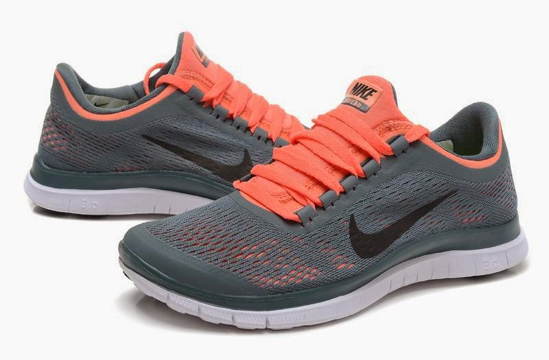 Nike Free 30 V5 Womens Running Shoes GreyOrange For Sale   Nike