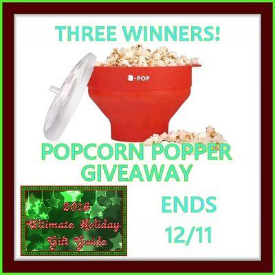 Popcorn Popper Giveaway