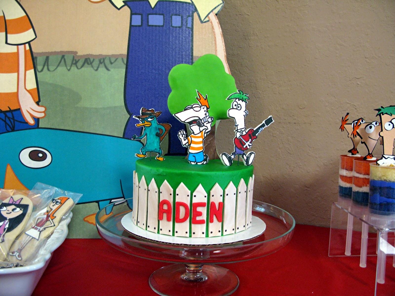 Tortas de Phineas y Ferb, parte 3