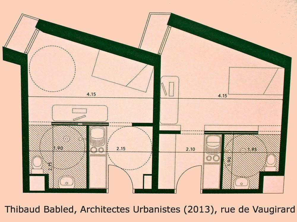 Thibaud Babled, Architectes Urbanistes (2013), rue de Vaugirard