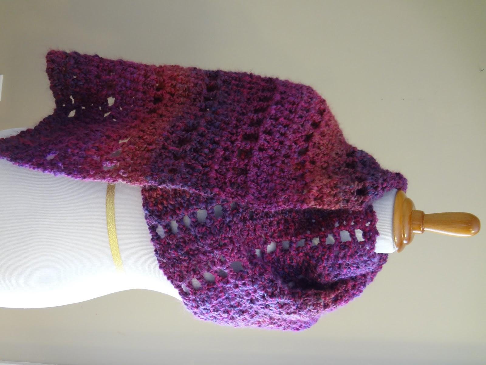 Free Crochet Pattern Shawl Beginner : Fiber Flux: Free Crochet Pattern...Mulberry Shawl!