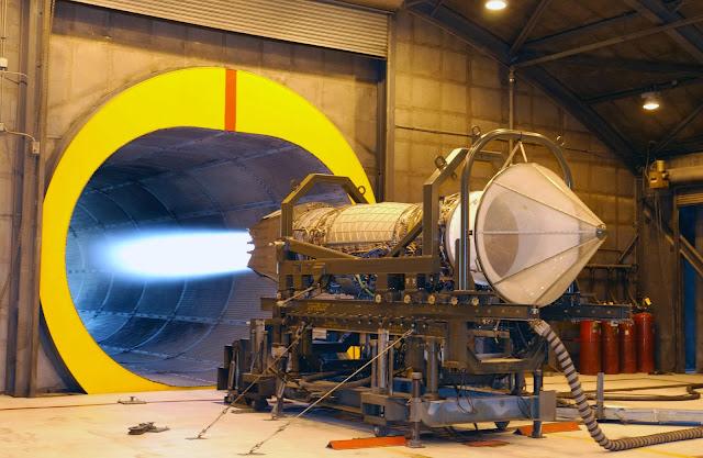 F119 Salah satu mesin pesawat buatan Pratt & Whitney Kanada