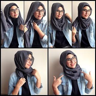 Tips Dan Cara Memakai Jilbab Yang Nyaman Saat Berkacamata