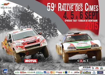Rallye des Cimes 2015
