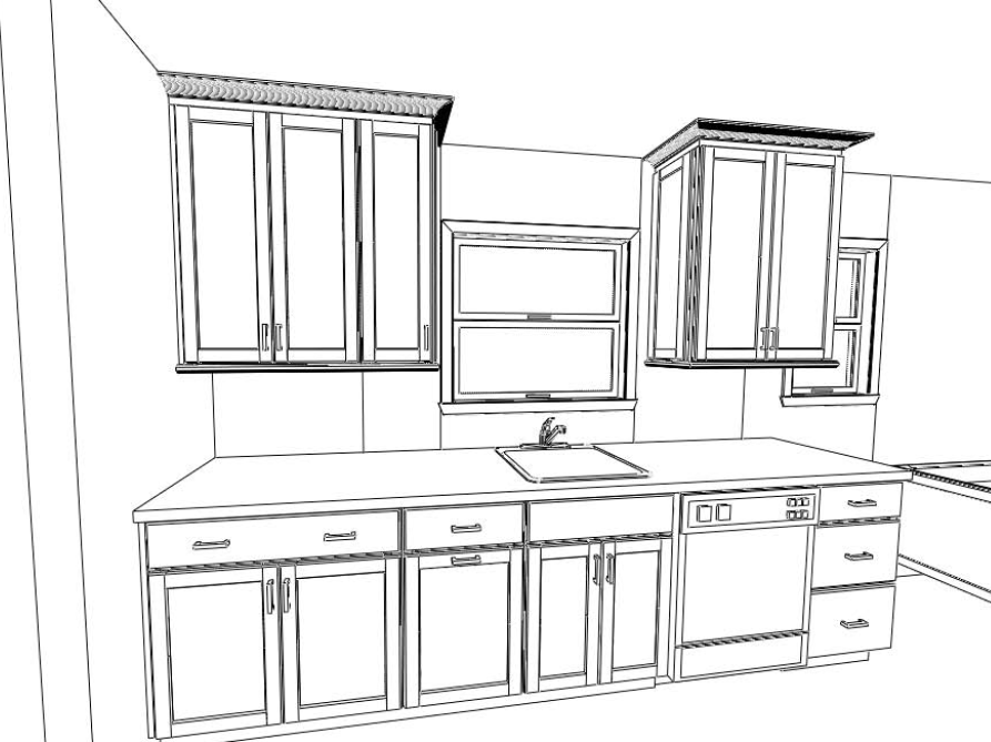 Dream Kitchen Coloring Pages 16 Photo