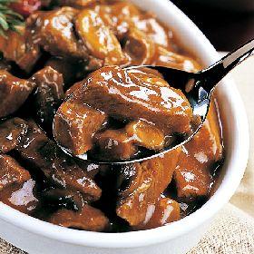 Crock Pot Beef Tips in Mushroom Sauce Recipe