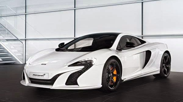 New 2015 McLaren 650S Pearl White By MSO