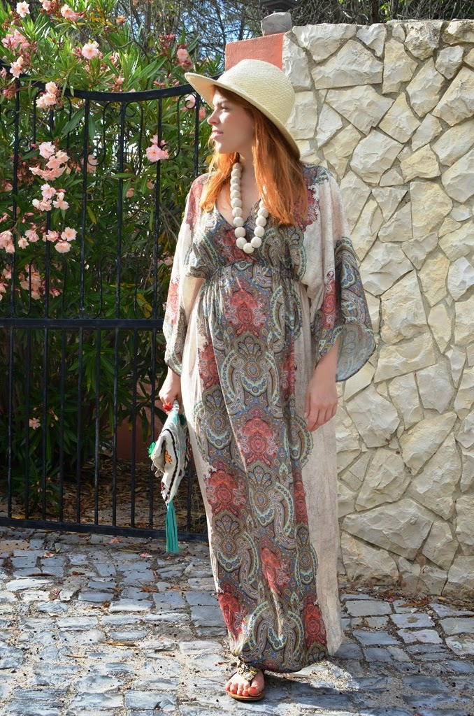 fashion bridge, www.fashion-bridge.blogspot.com, fashion-bridge blog, street style, street style summer, street fashion summer, maxi dresses, gypsetters, gypsetters bags, marni, marni necklace