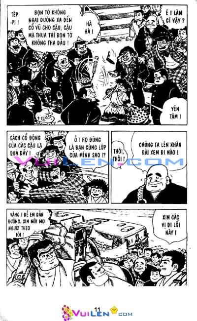 Siêu quậy Teppi chap 33 - Trang 8