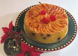 Foto Kue Natal Apple Flan From Swiss