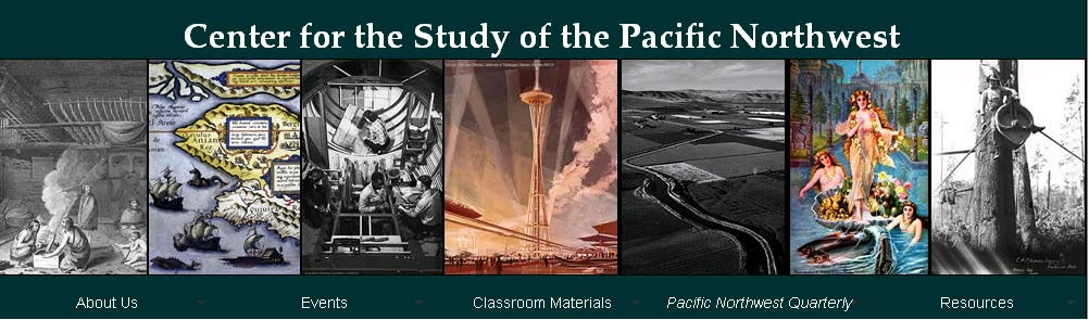 Center for the Study of the Pacific Northwest banner