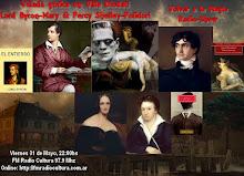Velada Gotica en Villa Diodati Lord Byron-Polidori-Mary & Percy Shelley