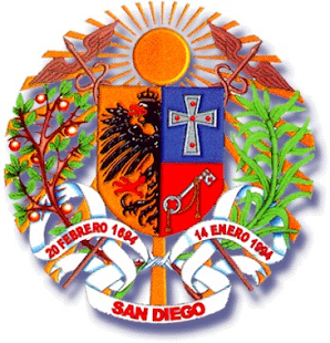 ESCUDO DE SAN DIEGO-ESTADO CARABOBO, VENEZUELA