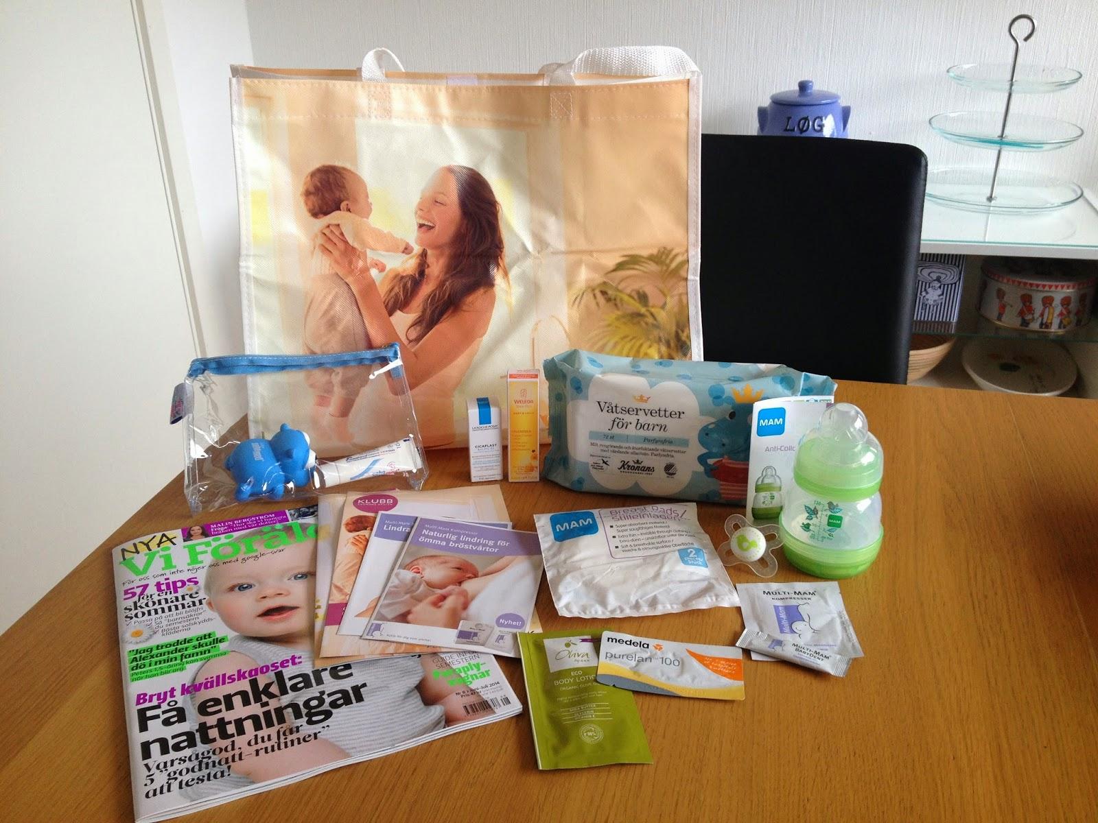 babybox gratis apoteket hjärtat