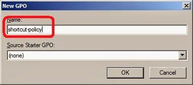 add desktop icon shortcut via group policy