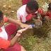 Songsong Hari Bumi, Siswa SD Yayasan Pendidikan Kristen (YPK) Sion Padang Bulan Tanam Pohon