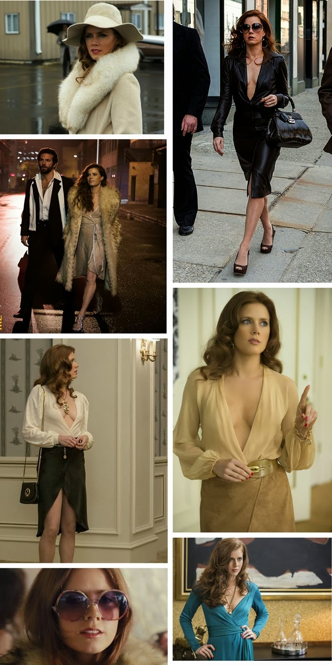 american hustle costumes, michael wilkinson, amy adams costumes, movie american hustle, 70 era, costume