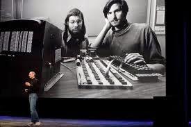 steve jobs μαζί με Steve Wozniak