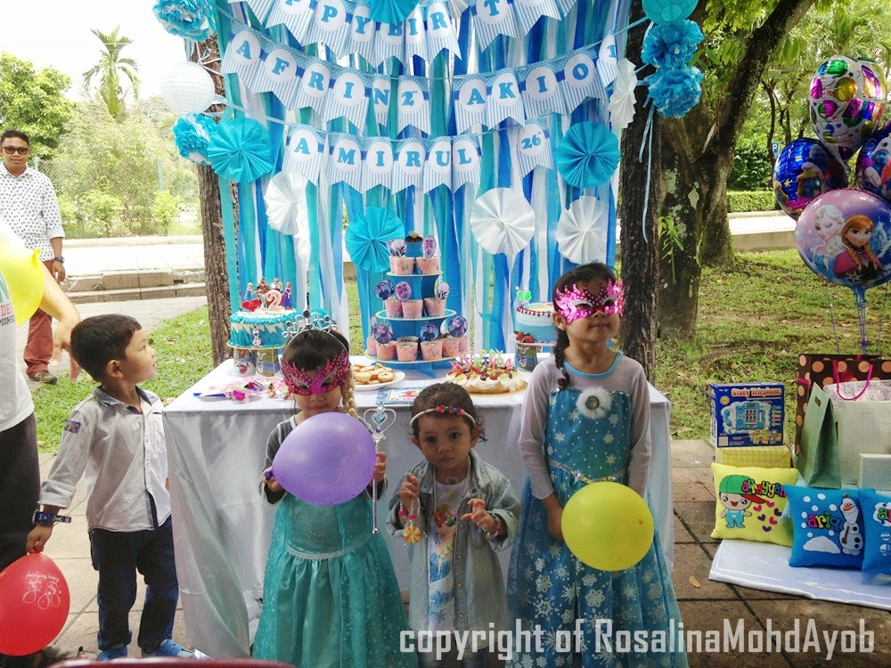 Birthday Party Tema Frozen Image Inspiration of Cake and Birthday