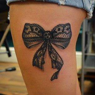 ♥ ♫ ♥ Awesome Bow Tattoo for girls  ♥ ♫ ♥
