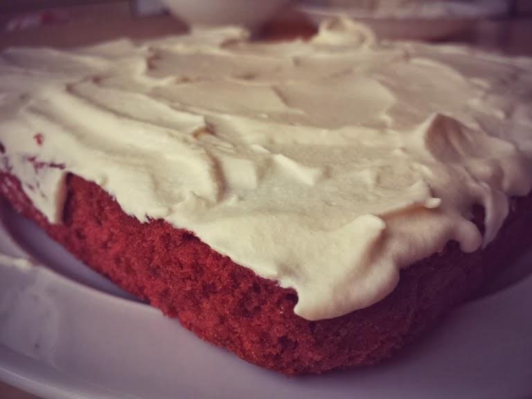 (almost) Red Velvet Cake