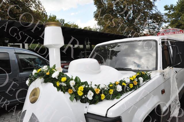 Esküvői autódísz