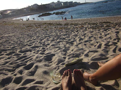 Riazor Beach in A Coruña