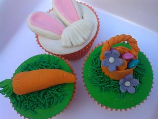 Cupcake cara de coelhinho