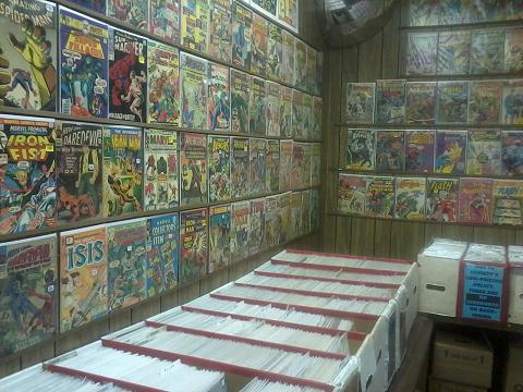 Pierwsza wizyta w sklepie z komiksami
