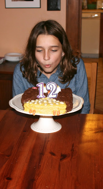 blowing out candles: simple living and eating