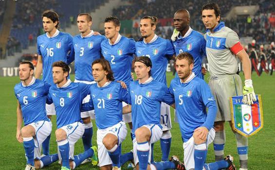 Squad Timnas Italia Euro 2012