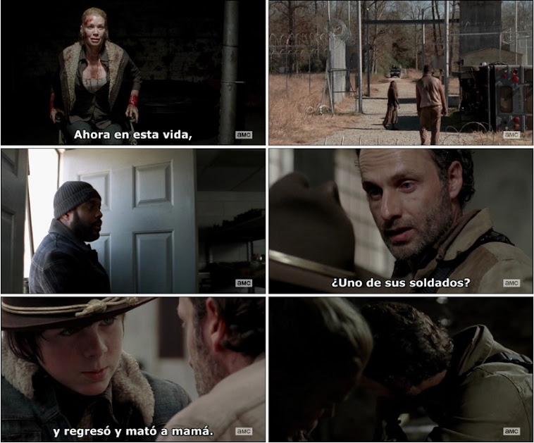 The Walking Dead 3×16 [HDTV - AVI] [Subtitulos Pegados] [FS]