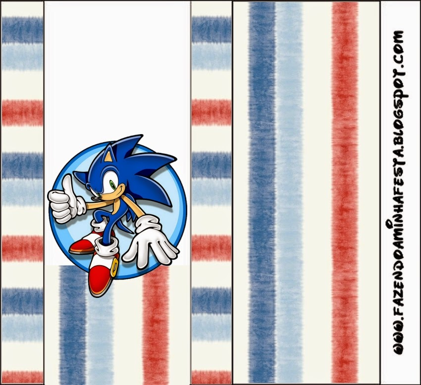 Free Printable Candy Bar Labels for a Sonic.